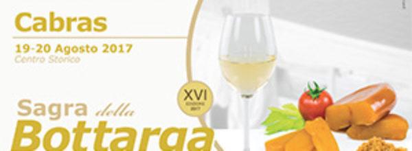 Sagra della Bottarga of Cabras | 18-20 August 2017