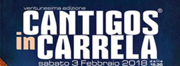 Cantigos in Carrela Santulussurgiu | 3 Febbraio 2018